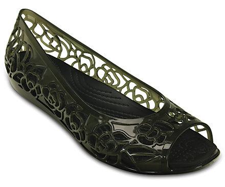 1. Crocs Women's Isabella W Flat Shoe