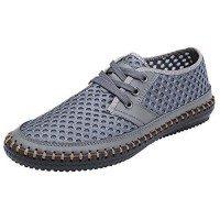 Mohem Men's Poseidon Mesh Walking Shoes