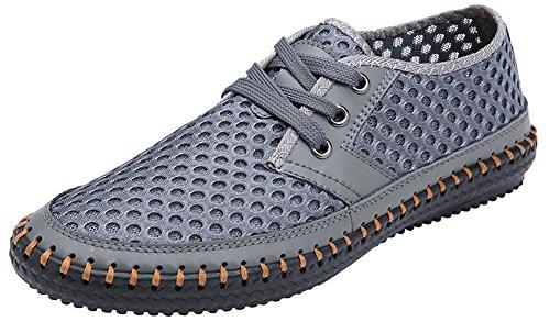 2. Mohem Men's Poseidon Mesh Walking Shoes Casual Water Shoes