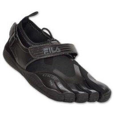 8. Fila Men's Skele-Toes Ez Slide Drainage Shoes