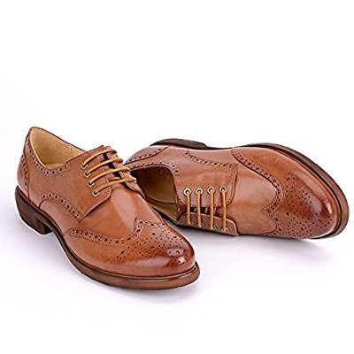 5. Women Leather Shoes E208