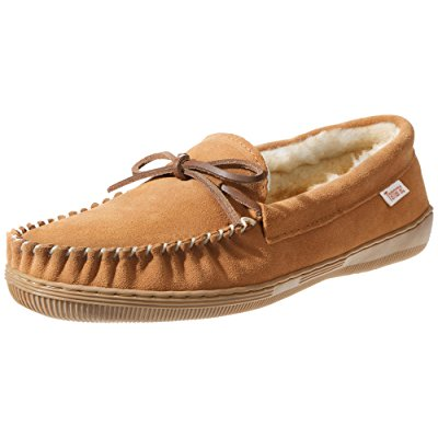 10. Tamarac by Slippers International 7161 Men's Camper Moccasin