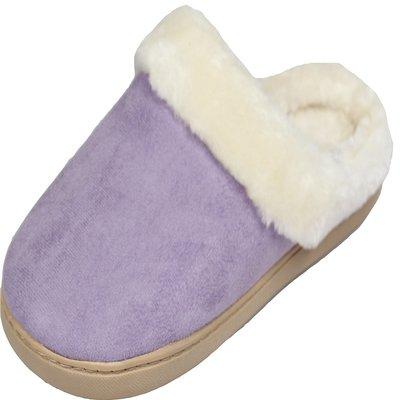 5. Luxehome Women's Cozy Fleece House Slippers