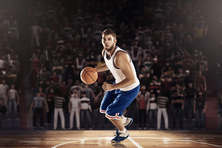 Best-Basketball-players on court