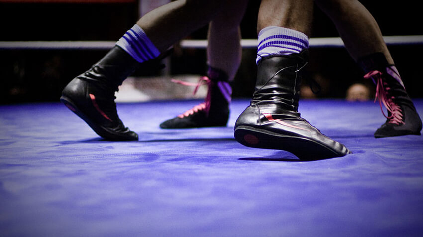 Best Boxing Shoes-foot work