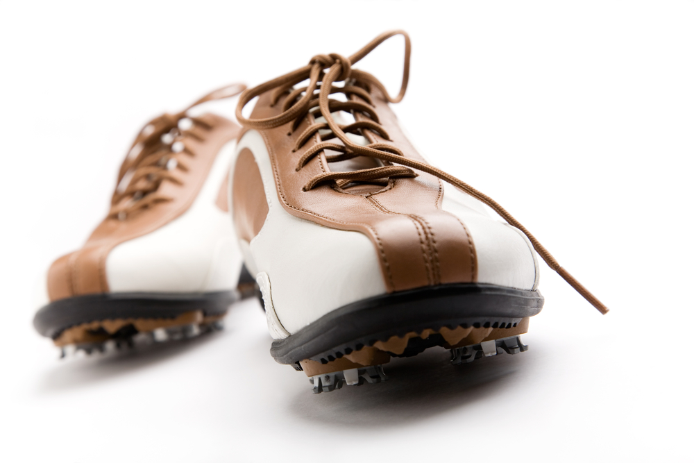 Best Golf Shoes- up close front view