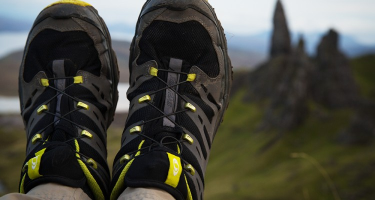 Best-Hiking-Shoes-breathable synthetic upper