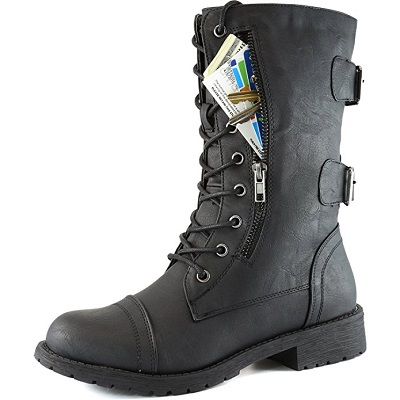1. Daily Shoes Mid-Calf High