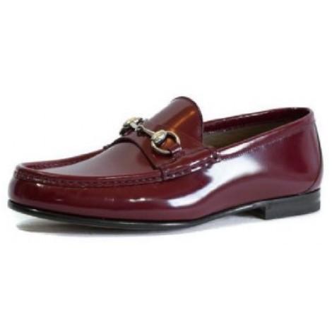 10. Gucci Brushed Leather Horsebit