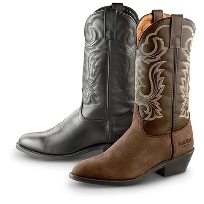 5. Guide Gear Men's 12 Inch Cowboy Boots