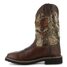 4. Justin Original Works Boots Men's Stampede