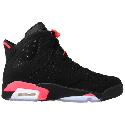 4. Air 6 Retro Women's Black Infrared AJ6