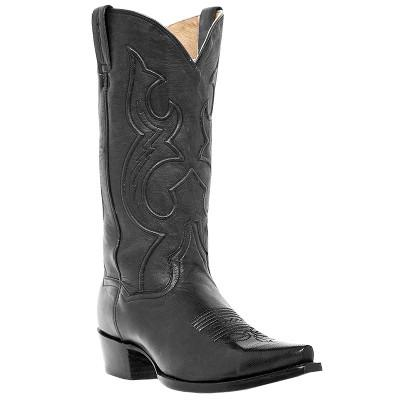 2. Old West Men's Trucker Western Work Boot