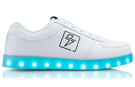 3. Velarde Eee Sneakers Light Up Shoes - Bolt Low Top