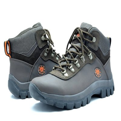 7. KINGSHOW Men's 1551 Water Resistance Rubber Sole Work Boot