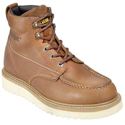 "3. Wolverine Men's Moc-Toe 6"" Work Boot"