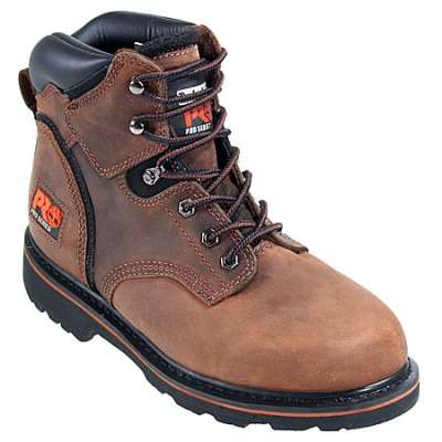 "8. Timberland PRO Men's Pitboss 6"" Steel-Toe Boot"