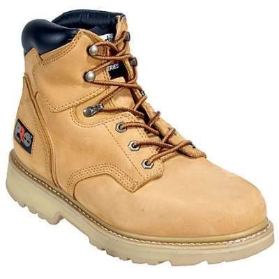 "2. Timberland PRO Men's Pitboss 6"" Soft-Toe Boot"