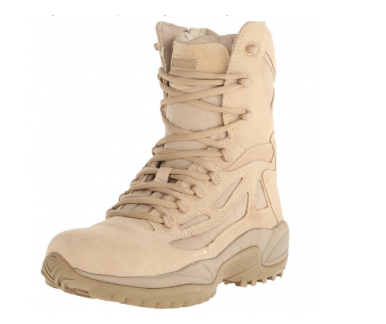 "4. Reebok Duty Men's Rapid Response RB8895 8"" Tactical Boot"