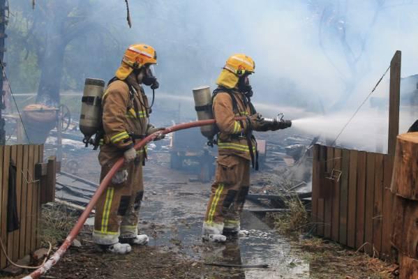best firefighter boots- environment
