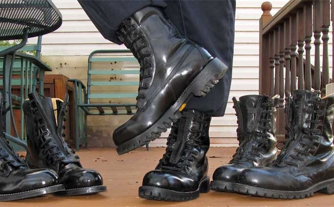 best firefighter boots- traction and grip