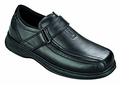 2. Orthofeet Lincoln Center Men's Extra Depth Arthritis and Diabetic Loafer Shoes