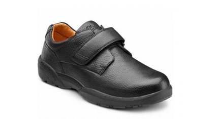 3. Dr. Comfort William-X Men's Therapeutic Diabetic Extra Depth Shoe Leather Velcro