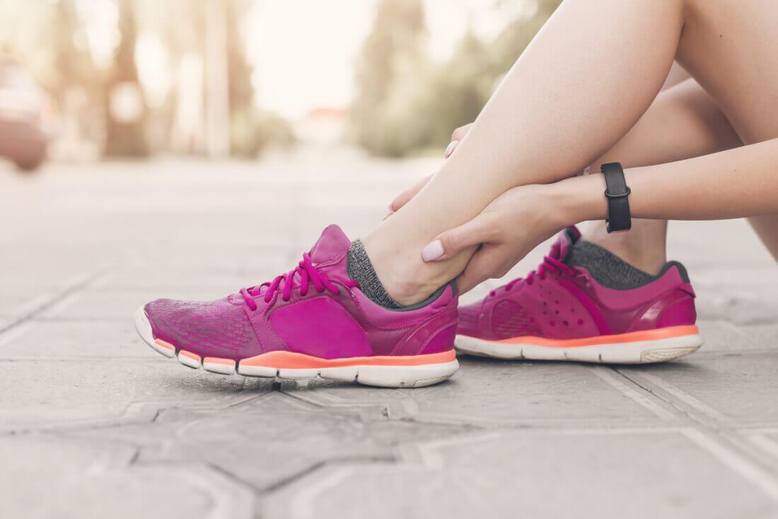athletes foor pain in the leg