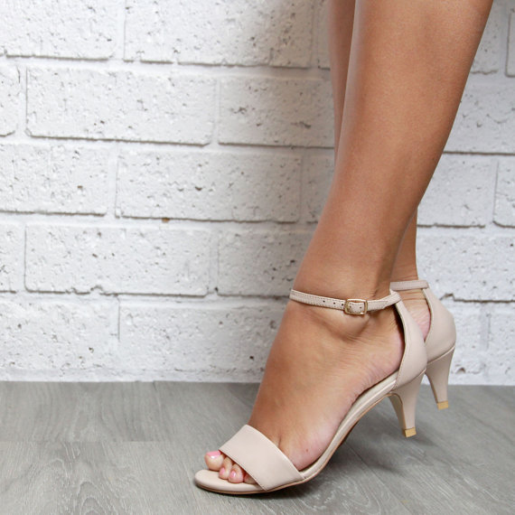 One clever workaround  and one you ll see commonly mentioned on wedding  forums is to get that crazy pair of 4 inch heels that make you look like a  movie  High Heel Wedding Shoes vs  Low heel shoes   Which one . One Inch Heel Wedding Shoes. Home Design Ideas