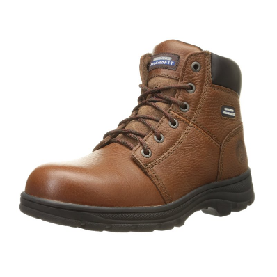 3. Skechers for Work Men's 77009 Workshire Relaxed Fit Work Steel Toe Boot