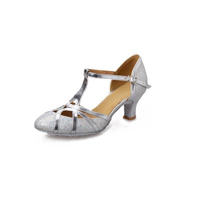 5. Roymall Women's Fashion Ballroom Party Glitter Latin Dance Shoes