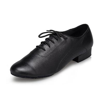 3. CRC Men's Stylish Round Toe Lace  Dance Shoes