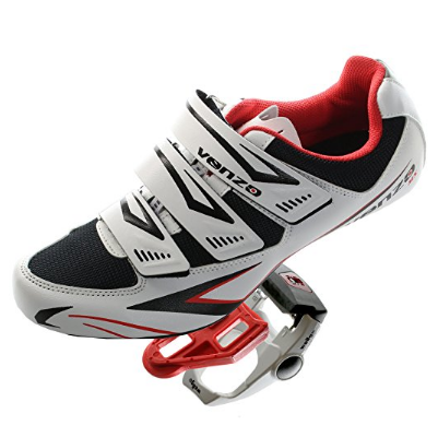 2. Venzo Road Bike For Shimano SPD SL Look Cycling Bicycle Shoes