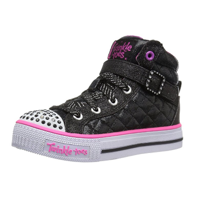 5. Skechers Kids Twinkle Toe Heart and Sole Light Up Sneaker (Little Kid/Big Kid)