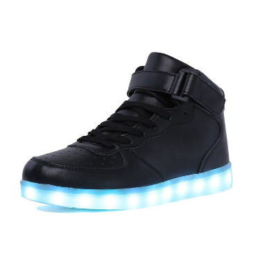 3. CIOR Kids Boy and Girl's High Top Led Sneakers Light Up Flashing Shoes(Toddler/Little Kid/Big Kid)