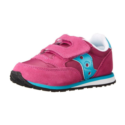1. Saucony Jazz Hook and Loop Sneaker (Toddler/Little Kid)