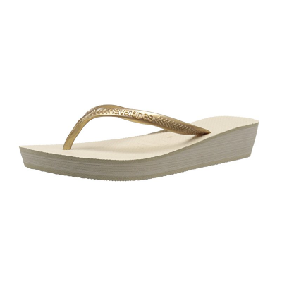 2. Havaianas Women's High Light II Flip-Flop Wedge Sandal