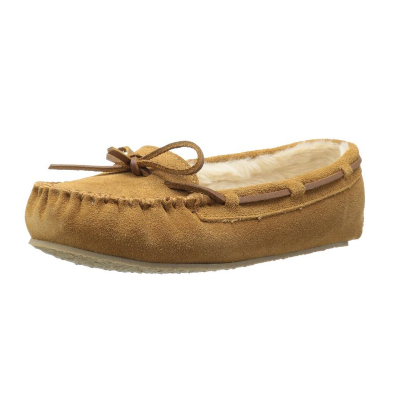 1. Minnetonka Women's Cally Faux Fur Slipper