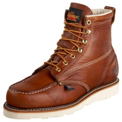 2. Thorogood Men's 814-4200 American Heritage 6″ Moc Toe Boot