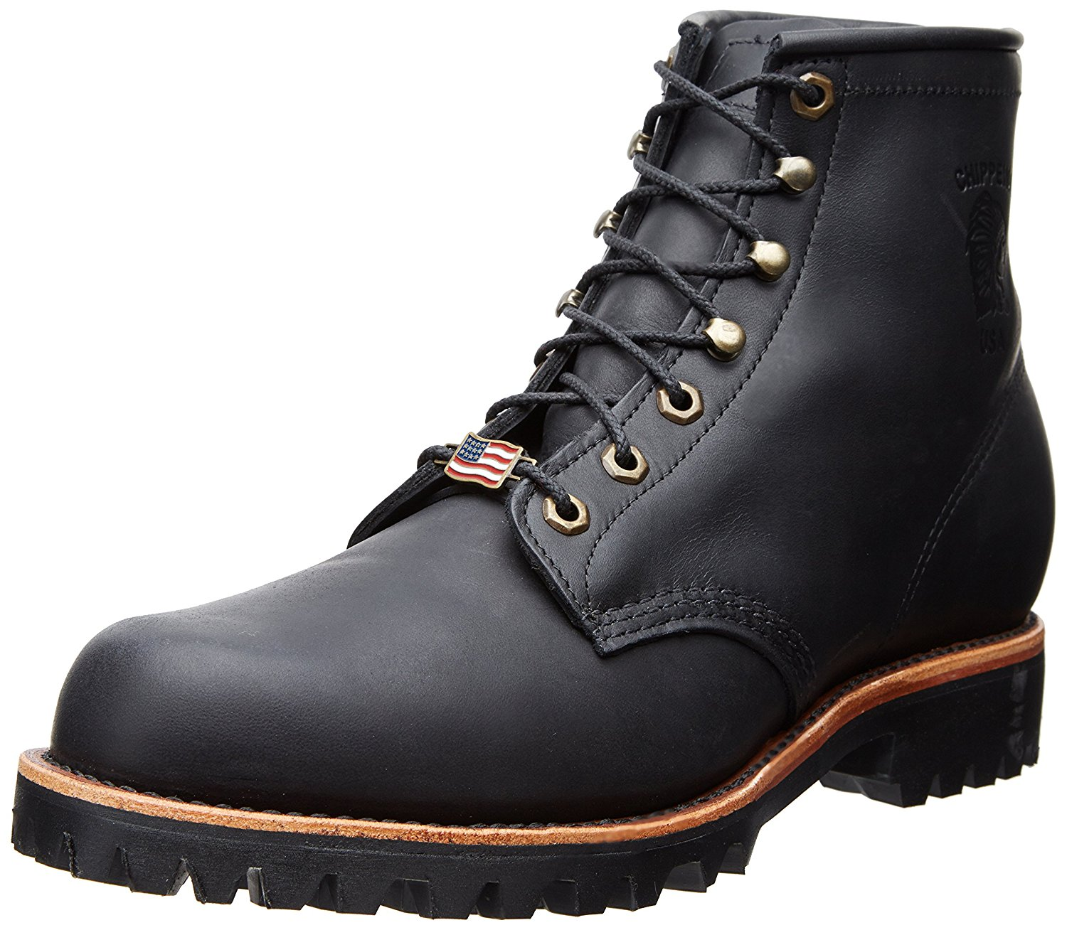 6. Chippewa Men's 6″ 20028 Lace Up Boot