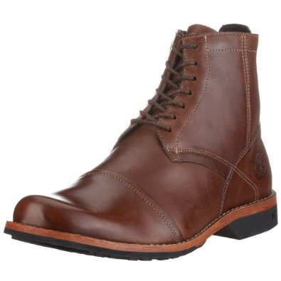 1. Timberland Men's City 6″ Side-Zip Boot