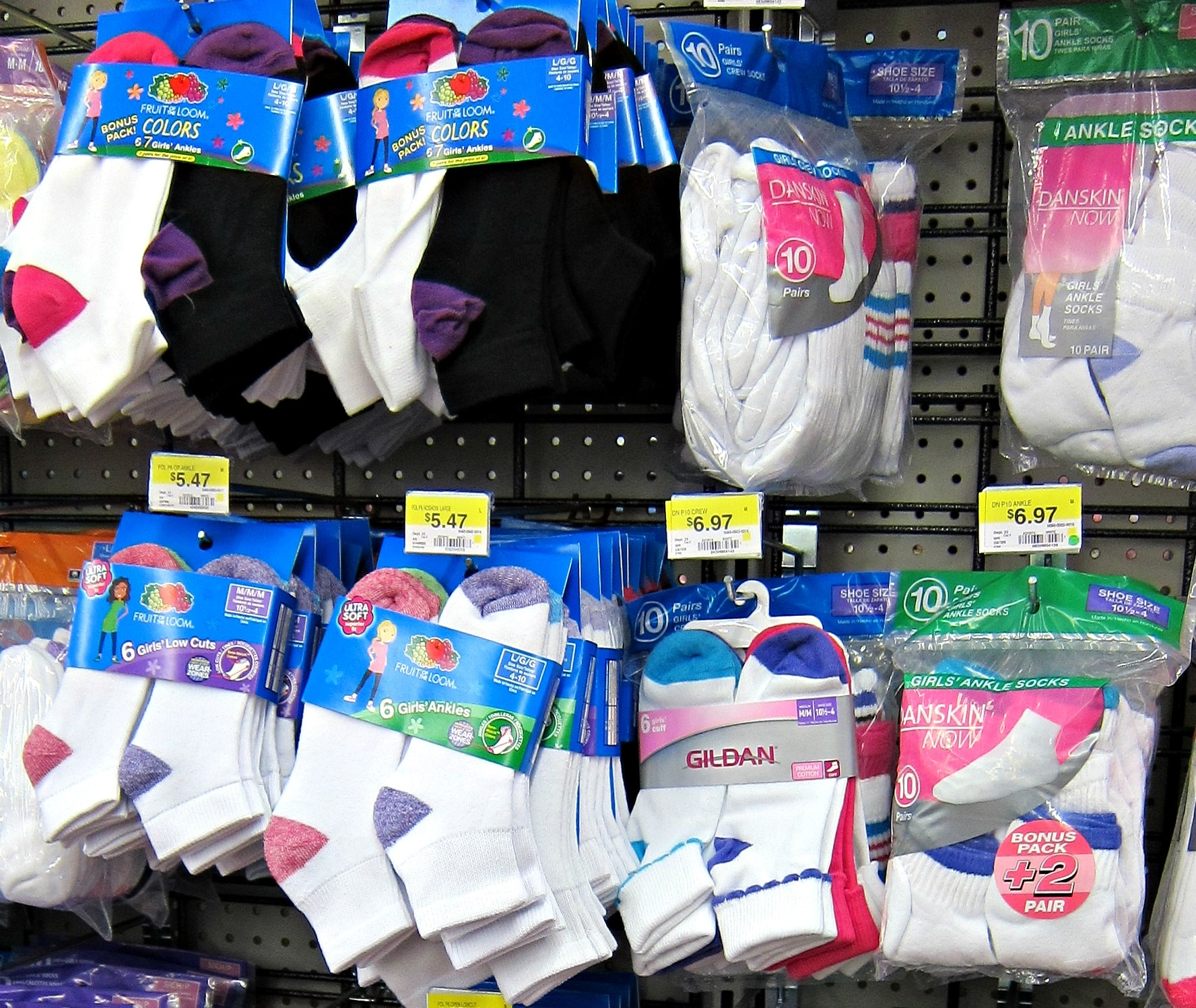 Best Kids Socks- Fruit of the loom socks
