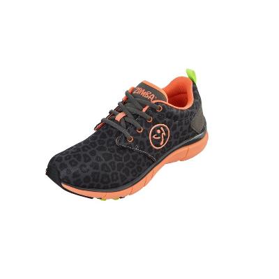 3. Zumba Women's Fly Print Dance Shoe