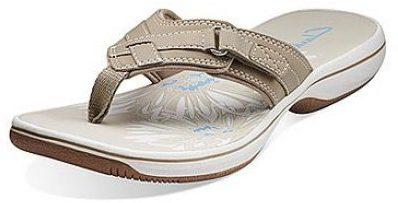 6. Clarks Sea Breeze Flip-Flops