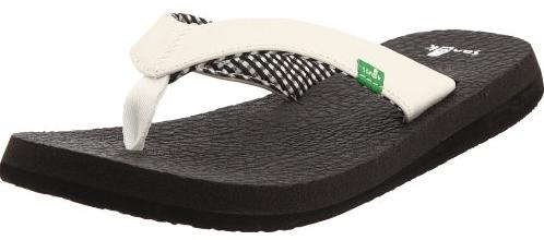 5. Sanuk Yoga Mat Flip Flops