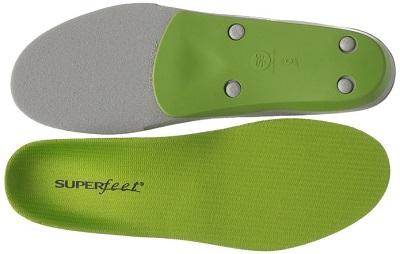Green Best Superfeet Insoles