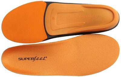 Orange Best Superfeet Insoles