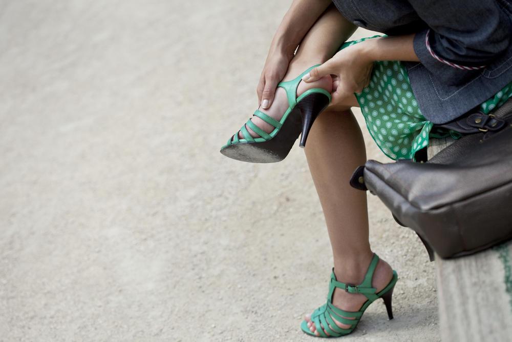 Foot Blister Prevention & Treatment - Blister from High heels