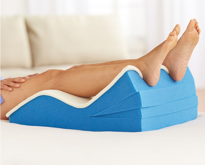 Foot Blister Prevention & Treatment - elevate feet