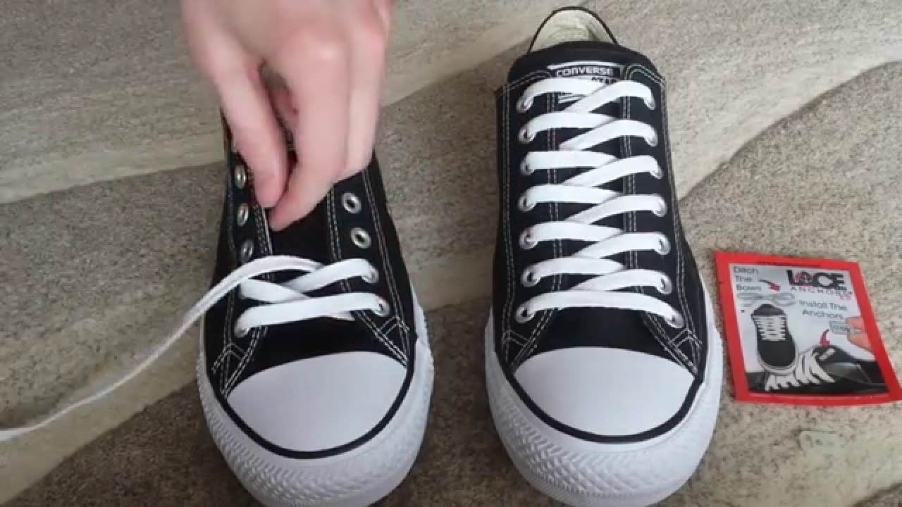 How to Lace your shoes-zigzag